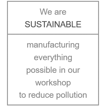 We are sustainable